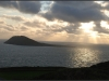 Bardsey Island at Sunset