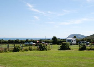 Stunning views of the National Trust Headland and Bardsey Island