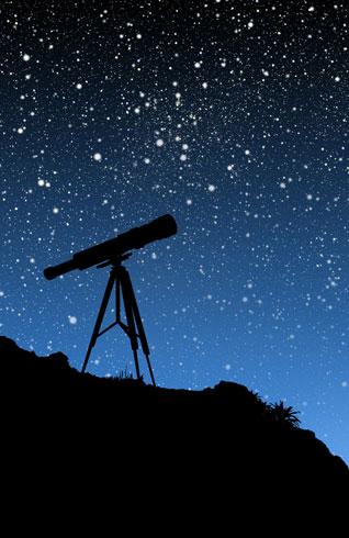 Stargazing in Aberdaron, Wales